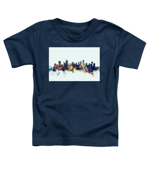 Vancouver Canada Skyline Toddler T-Shirt