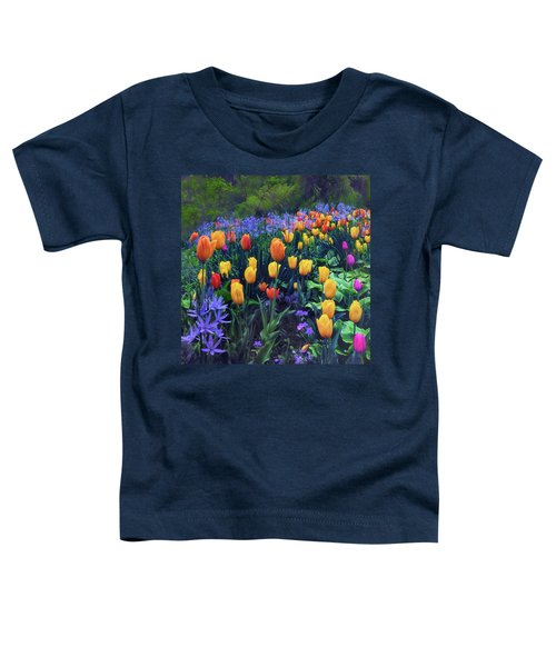 Procession Of Tulips Toddler T-Shirt