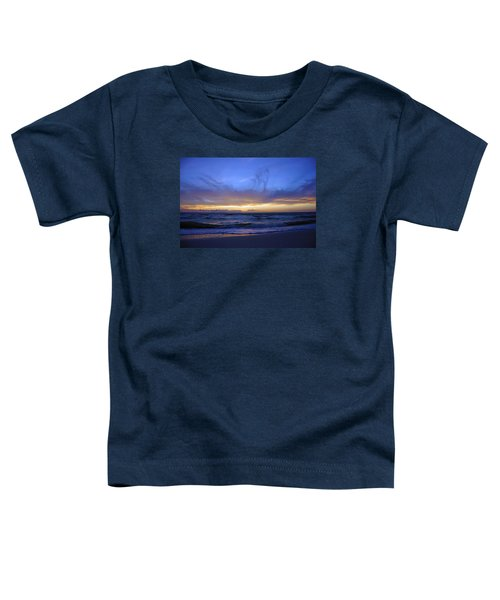 Sunset At Delnor Wiggins Pass State Park Toddler T-Shirt
