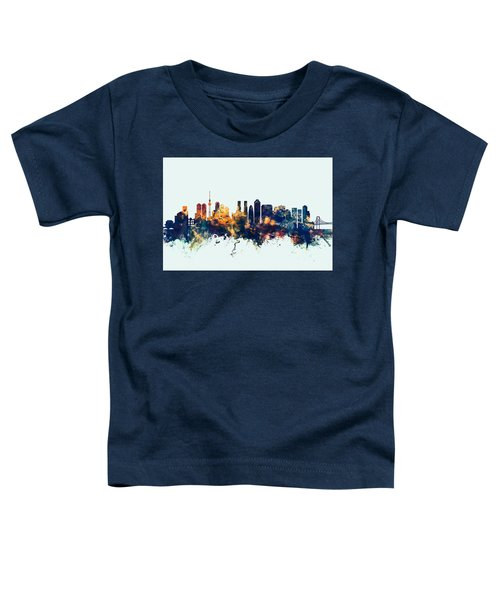 Tokyo Japan Skyline Toddler T-Shirt