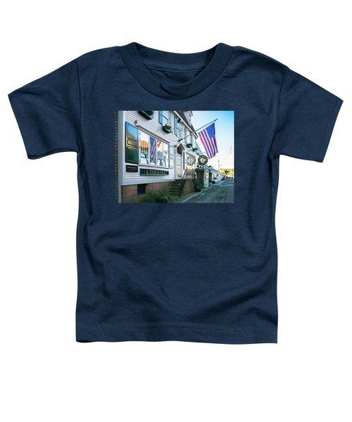 A Newport Wharf Toddler T-Shirt