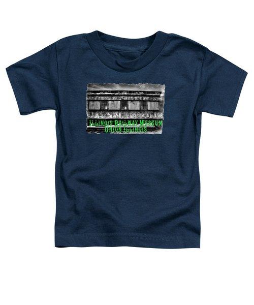 Abandoned Circus Transport Car Toddler T-Shirt by Roger Passman