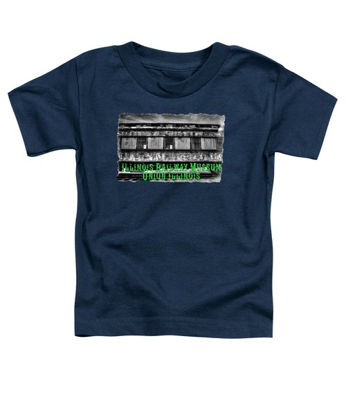 Abandoned Circus Transport Car Toddler T-Shirt