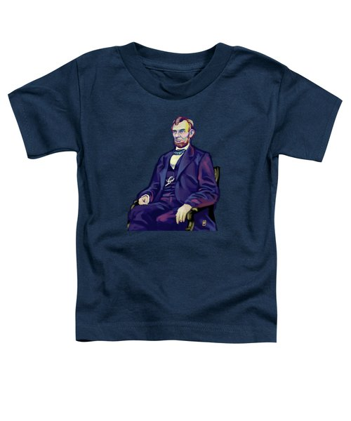 Abe Toddler T-Shirt by Rob Snow