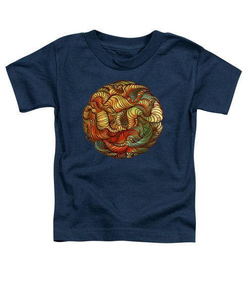 Abstract Forest Ball Toddler T-Shirt