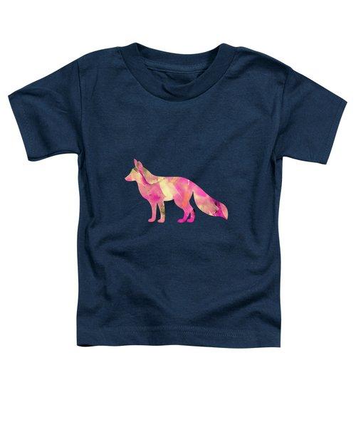 Abstract Fox  Toddler T-Shirt