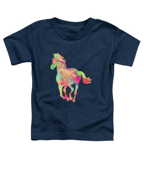 Abstract Horse Toddler T-Shirt by Amir Faysal