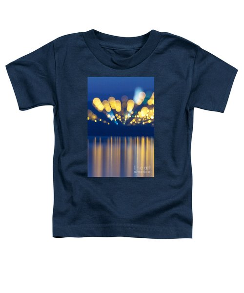 Abstract Light Texture With Mirroring Effect Toddler T-Shirt