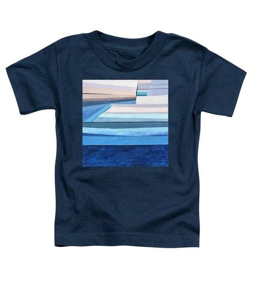Abstract Swimming Pool Toddler T-Shirt