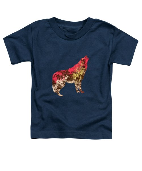Abstract Wolf  Toddler T-Shirt