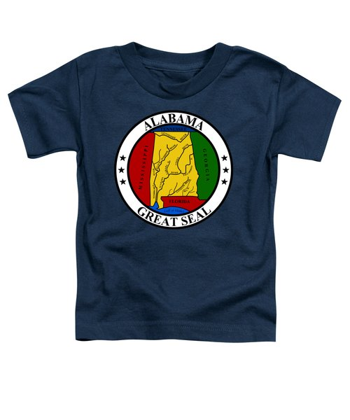 Alabama State Seal Toddler T-Shirt
