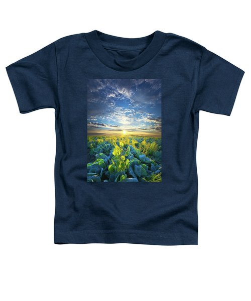 All Joined As One Toddler T-Shirt by Phil Koch