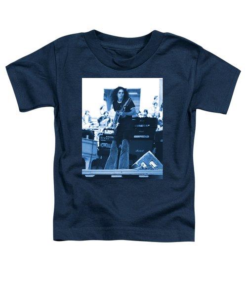 Allen Collins In Blue Oakland 1975 Toddler T-Shirt