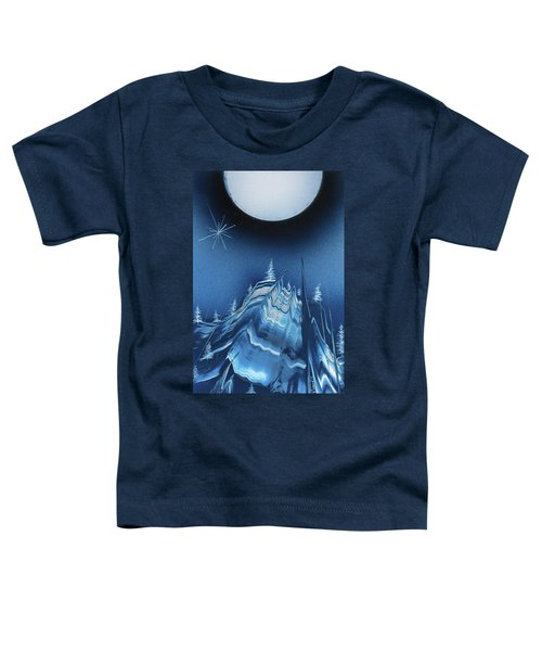 Alpine Ski Area Toddler T-Shirt