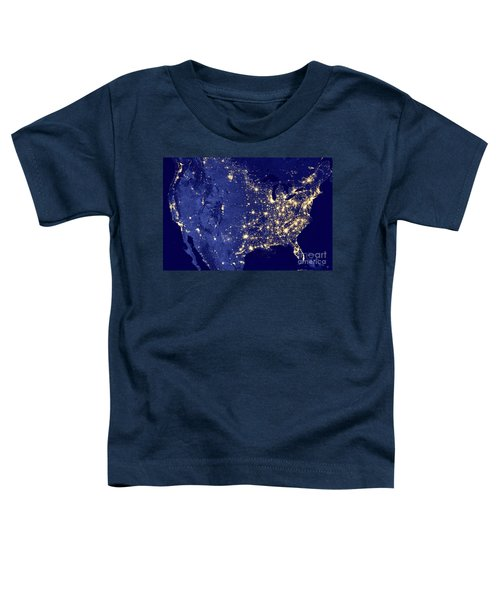 America By Night Toddler T-Shirt