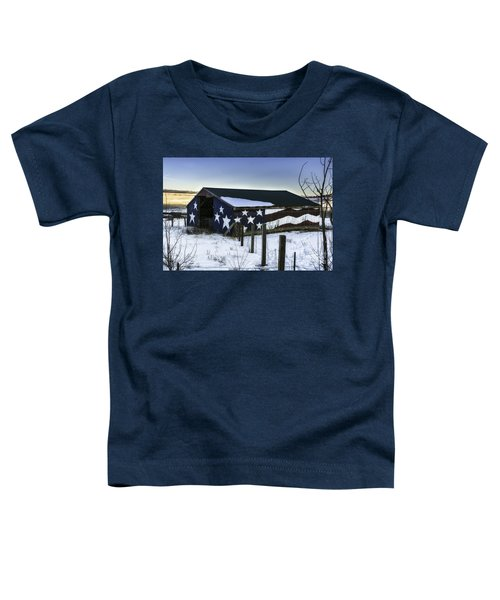 American Snow  Toddler T-Shirt