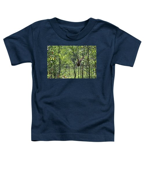 American Woodcock's Flight When She Has Chicks Toddler T-Shirt