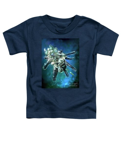 Amoeba Blue Toddler T-Shirt