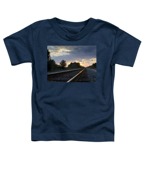 Amtrak Railroad System Toddler T-Shirt