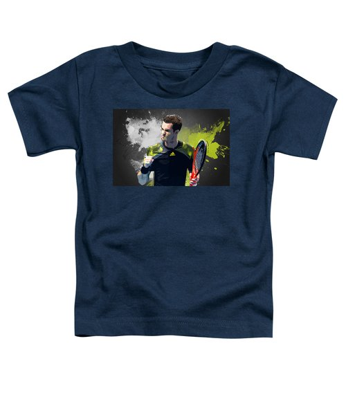 Andy Murray Toddler T-Shirt