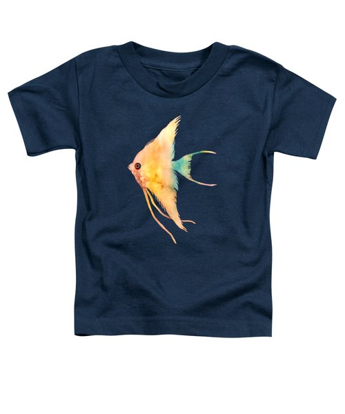 Angelfish II - Solid Background Toddler T-Shirt