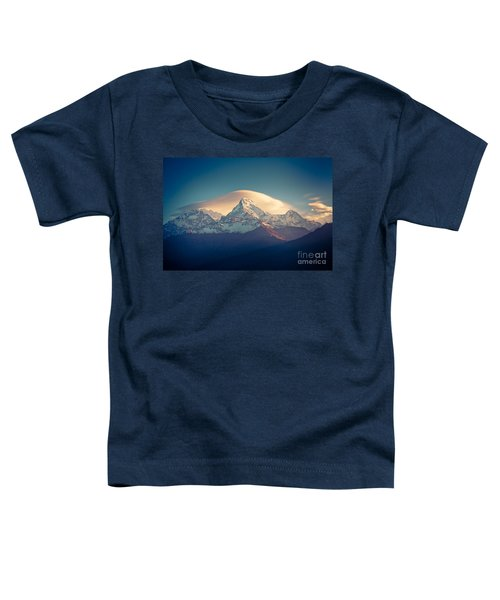 Annapurna Sunrise Himalayas Mountain Artmif Toddler T-Shirt