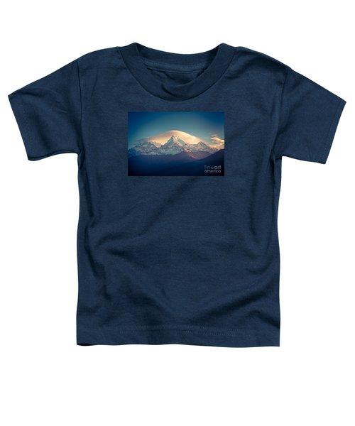 Annapurna Sunrise Himalayas Mountain Artmif Toddler T-Shirt