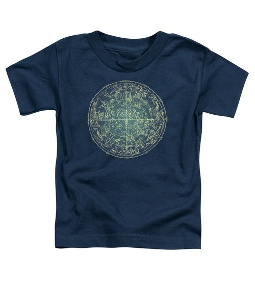 Antique Constellation Of Northern Stars 19th Century Astronomy Toddler T-Shirt