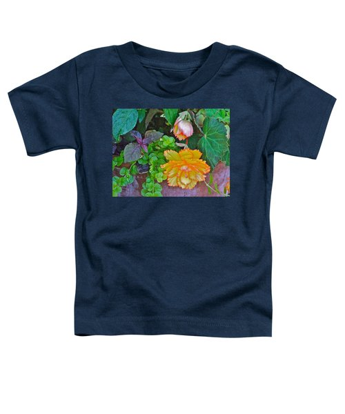 Apricot Begonia 3 Toddler T-Shirt