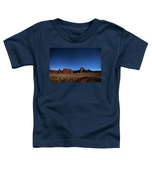 Arizona Landscape At Night Toddler T-Shirt