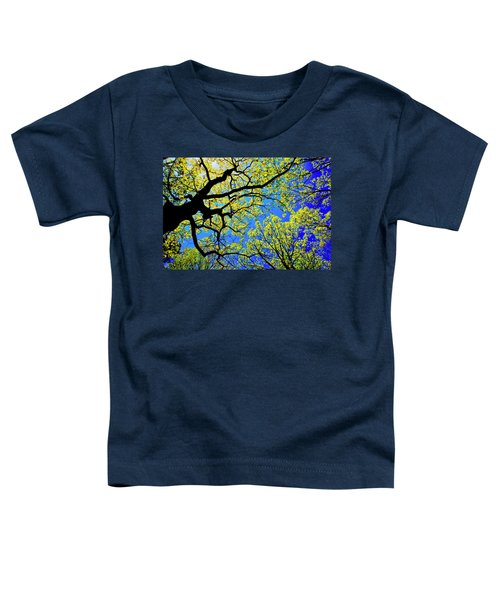Artsy Tree Canopy Series, Early Spring - # 01 Toddler T-Shirt