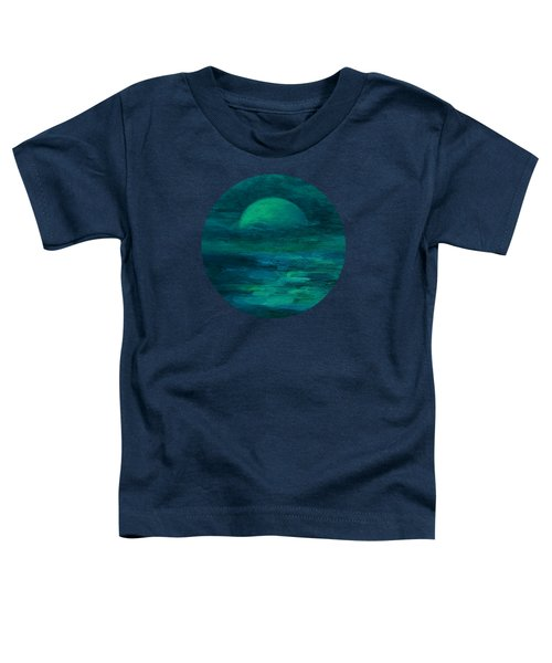 Moonlight On The Water Toddler T-Shirt