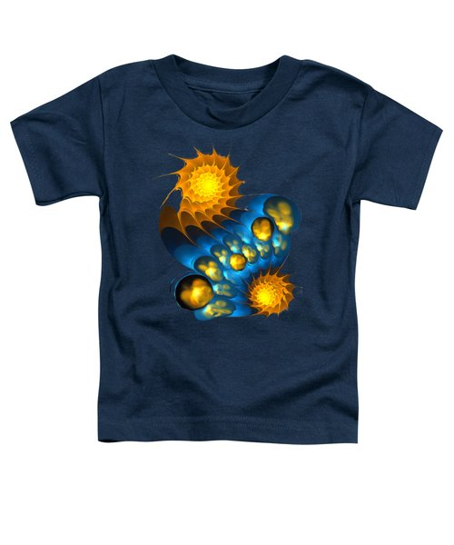 Toddler T-Shirt featuring the digital art It Is Time by Anastasiya Malakhova