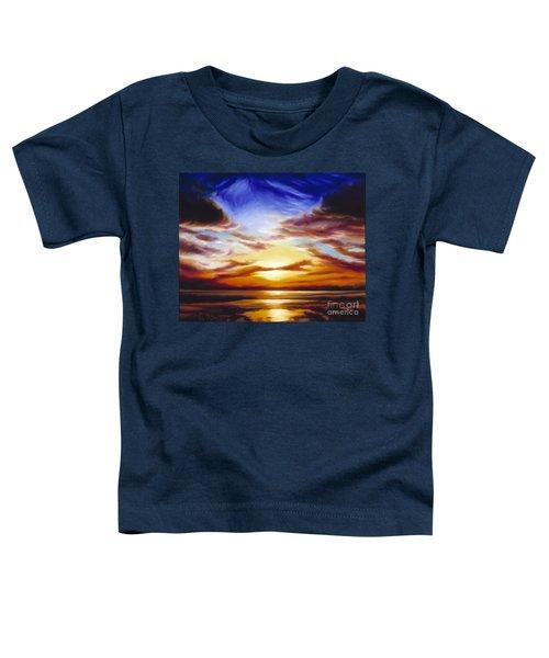 As The Sun Sets Toddler T-Shirt
