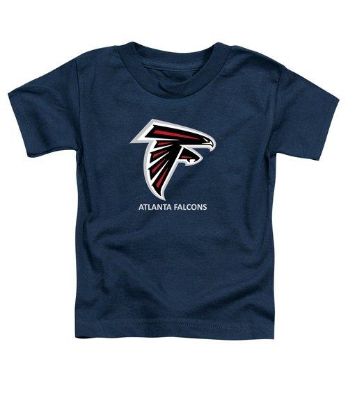 Atlanta Falcons Barn Toddler T-Shirt by Movie Poster Prints