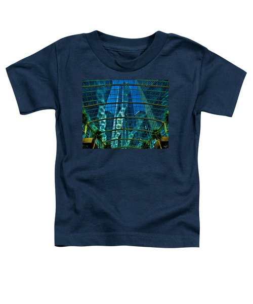 Atrium Gm Building Detroit Toddler T-Shirt