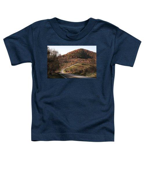 Autumn Hill Near Hancock Maryland Toddler T-Shirt