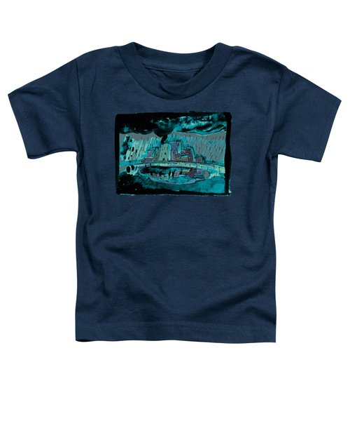 Autumn Rain In The Old City Toddler T-Shirt