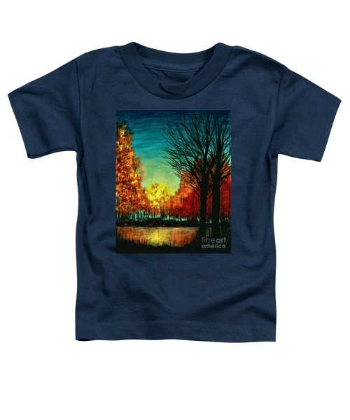 Autumn Silhouette  Toddler T-Shirt