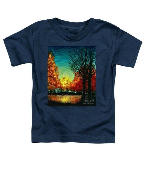 Autumn Silhouette  Toddler T-Shirt