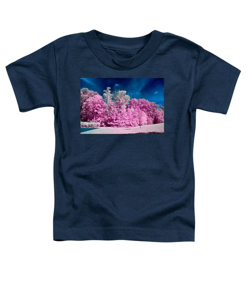 Autumn Trees In Infrared Toddler T-Shirt