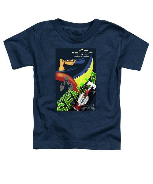 Ayrton Senna Toddler T-Shirt