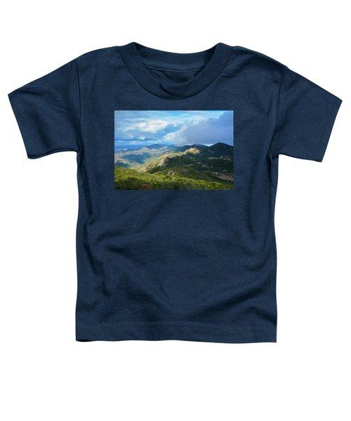 Backbone Trail Santa Monica Mountains Toddler T-Shirt