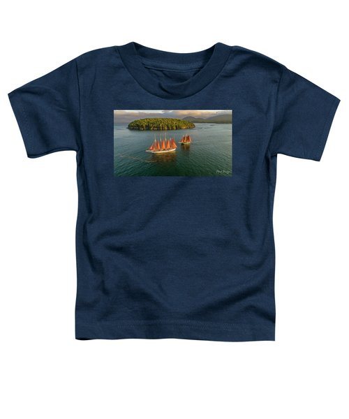 Sailing Thru Life The Downeast Way Toddler T-Shirt