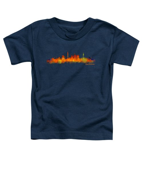Barcelona City Skyline Hq V2 Toddler T-Shirt