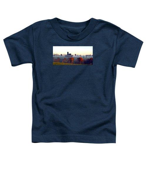 Barn And Silo 3 Toddler T-Shirt