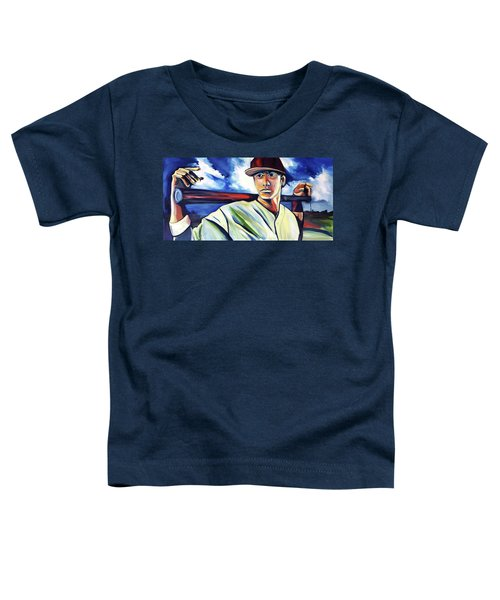 Baseball Crucifix Toddler T-Shirt