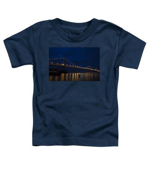 Bay Bridge At Night Toddler T-Shirt