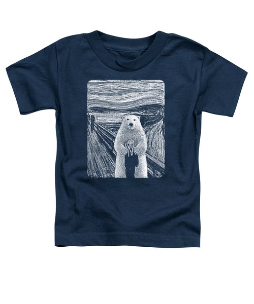 Bear Factor Toddler T-Shirt by Mustafa Akgul