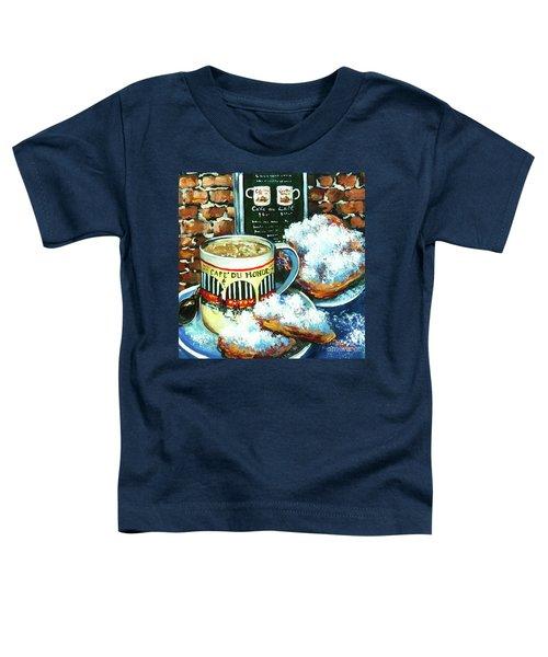 Beignets And Cafe Au Lait Toddler T-Shirt